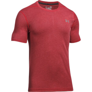 Under Armour Men's Threadborne Fitted 3C T-Shirt - Red