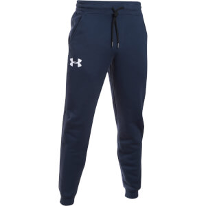 Under Armour Men's Rival Cotton Joggers -Navy