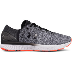 Under Armour Men's Charged Bandit 3 Running Shoes - Black/White