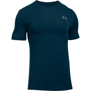 Under Armour Men's Threadbone Seamless T-Shirt - Navy
