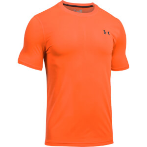Under Armour Men's Threadborne FItted T-Shirt - Orange
