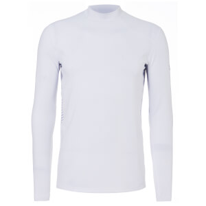 Under Armour Men's ColdGear Reactor Fitted Long Sleeve Top - White