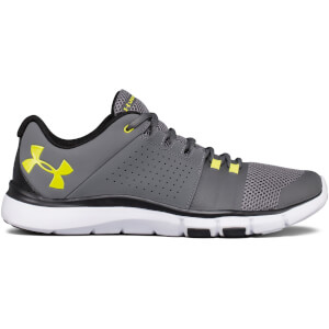 Under Armour Men's Strive 7 Training Shoes - Grey/Yellow