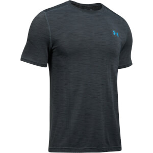 Under Armour Men's Threadborne Seamless T-Shirt - Grey/Blue