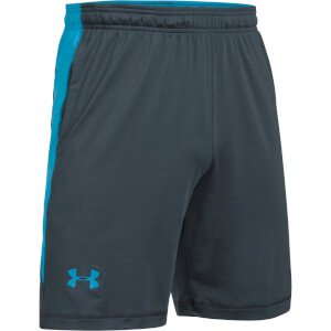 Under Armour Men's Raid International Training Shorts - Grey/Blue