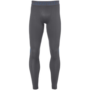 Under Armour Men's ColdGear Reactor Leggings - Grey/Blue