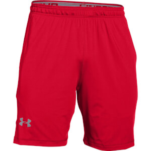 Under Armour Men's Raid International Training Shorts - Red