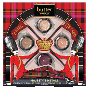 butter LONDON Majesty's Metals Collection (Worth £35)