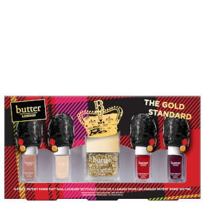 butter LONDON The Gold Standard Collection