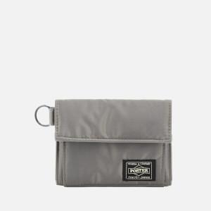 Porter-Yoshida & Co. Men's Tanker Wallet - Grey