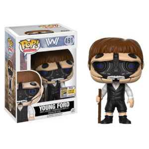 SDCC 17 Westworld Robotic Dr. Ford Host Pop! Vinyl Figure