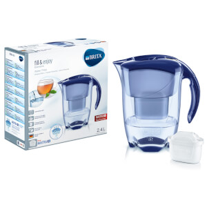 BRITA Maxtra+ Elemaris Cool Meter Water Filter Jug - Blue