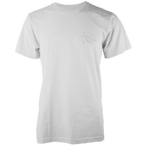 T-Shirt Homme Dinosoraure Origami Poche T-Rex - Blanc