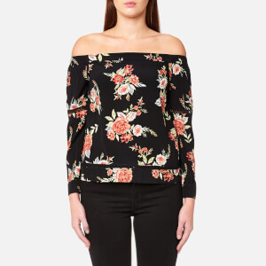 MINKPINK Women's Wallflower Off Shoulder Top - Multi