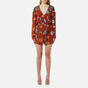 MINKPINK Women's Ornate Playsuit - Multi