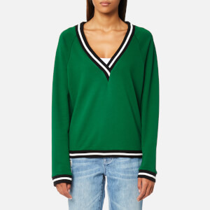 MINKPINK Move Women's Second Base Sweatshirt - Emerald Green