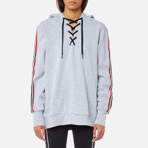 MINKPINK Move Women's Track Star Hoody - Grey Marle