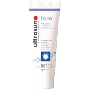 Ultrasun Anti-Ageing SPF 50+ Face 25ml (Free Gift) (Worth £12.00)