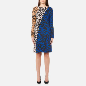 Diane von Furstenberg Women's Bias Fitted Dress - Belmont