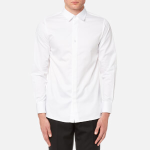 Matthew Miller Men's Newman Long Sleeve Shirt - White