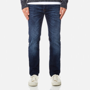 Edwin Men's ED-80 Slim Tapered Jeans - Contrast Clean Wash