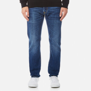 Edwin Men's ED-55 Regular Tapered Rainbow Selvedge Jeans - Kiyoshi Wash