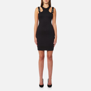 Versace Jeans Women's Fitted Dress - Black