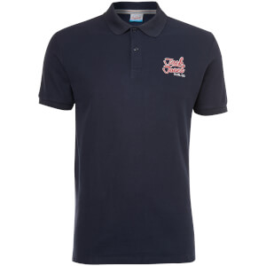 Jack & Jones Originals Men's Authentic Polo Shirt - Total Eclipse
