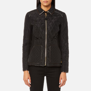 Joules Women's Marchesa Quilted Coat - Black