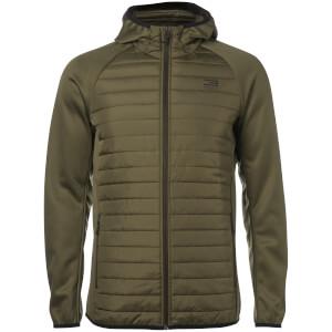 Jack & Jones Men's Core Lightweight Quilted Jacket - Olive