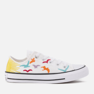 Converse X Mara Hoffman Women's Chuck Taylor All Star Ox Trainers - White/Black/White