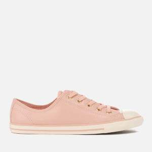 Converse Women's Chuck Taylor All Star Dainty Ox Trainers - Dusk Pink/Gold/Egret