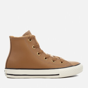 Converse Kids Chuck Taylor All Star Hi-Top Trainers - Chipmunk/Chipmunk/Egret