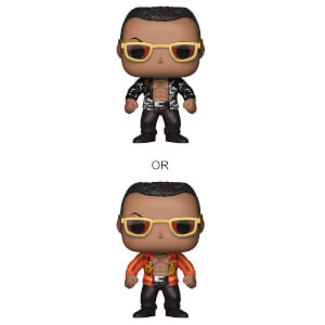 WWE The Rock Old School Pop! Vinyl Figure with Chase