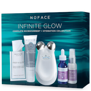 NuFACE Trinity Infinite Glow Complete Microcurrent and Hydration Collection (Worth $443)