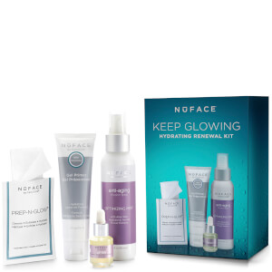 NuFACE Keeping Glowing Hydrating Renewal Kit (Worth $84)
