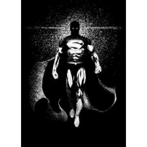 Affiche en Métal DC Comics DC Dark Édition Superman (32 x 45cm)