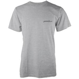 T-Shirt Homme Core Logo Native Shore - Gris Clair Chiné