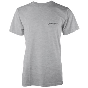 Native Shore Men's Core Logo T-Shirt - Light Grey Marl