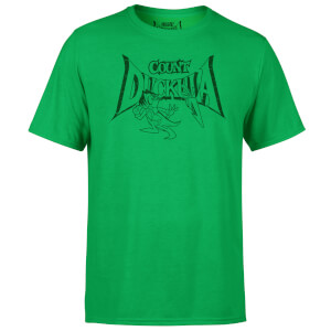 Count Duckula Chase Logo Green T-Shirt