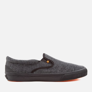 Superdry Men's Mono Slip-On Trainers - Black Marl