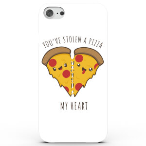 Coque iPhone & Android You've Stolen A Pizza My Heart - Blanc