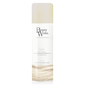 Beauty Works Dry Foam Shampoo 150ml - Light Blonde