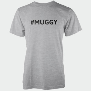 Hashtag Muggy Men's Grey T-Shirt