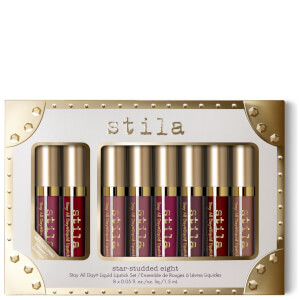 Stila Star-Studded Eight - Stay All Day Liquid Lipstick Set (Worth £64)