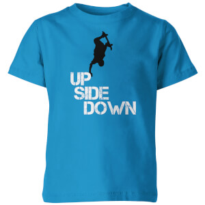 My Little Rascal Kids Up Side Down Blue T-Shirt