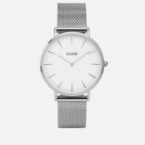 Cluse Women's La Bohème Mesh Watch - Silver