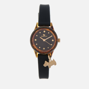 Radley Women's Watch It! Silicone Strap Watch - Black