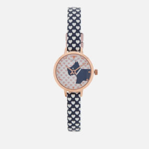 Radley Women's Love Radley Printed Watch - Blue