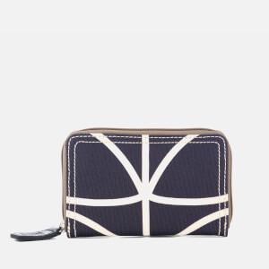 Orla Kiely Women's Medium Zip Wallet - Orchid